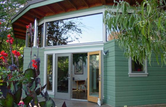 Backyard Cottage garden