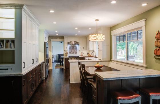 Danville Living Area Makeover Nook to Kitchen
