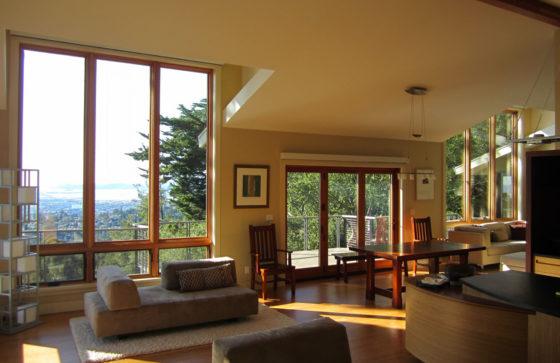 Open Plan Oakland Hills living