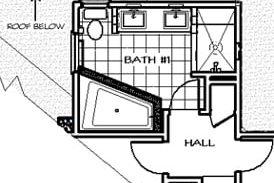 Three Foot Addition Bath Plan After